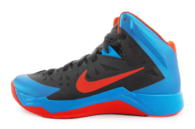 Nike basketball shoes hyper quickness blue