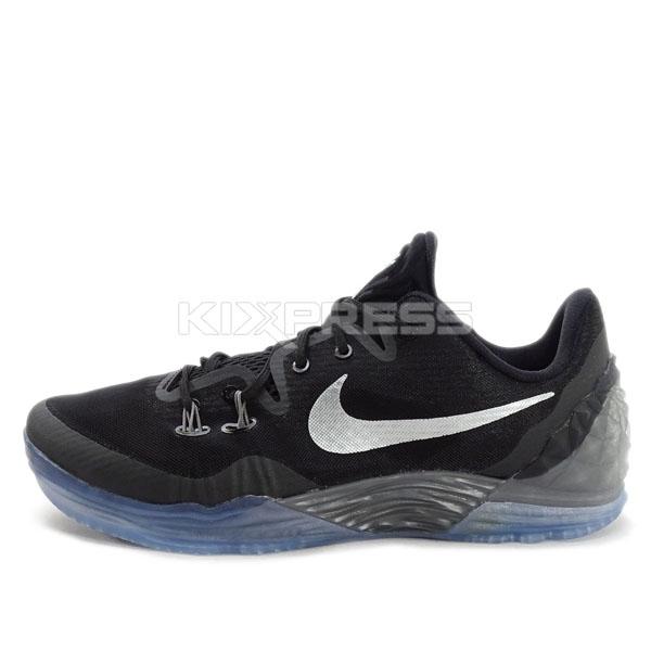 new concept 14ad9 8d8ab ... nike zoom kobe venomenon 5 ep 815757 001 basketball black silver grey .  ...