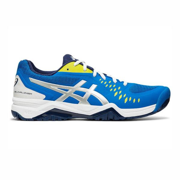 Details about Asics GEL Challenger 12 [1041A045 400] Men Tennis Shoes Electric BlueSilver