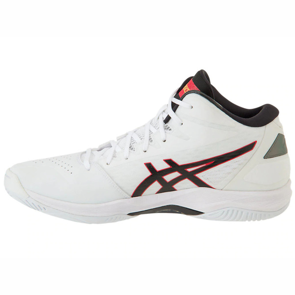Clothing, Shoes & Accessories Athletic Shoes Asics Gelhoop V11 White Black Red Men Basketball Shoes Sneakers 1061a015-116