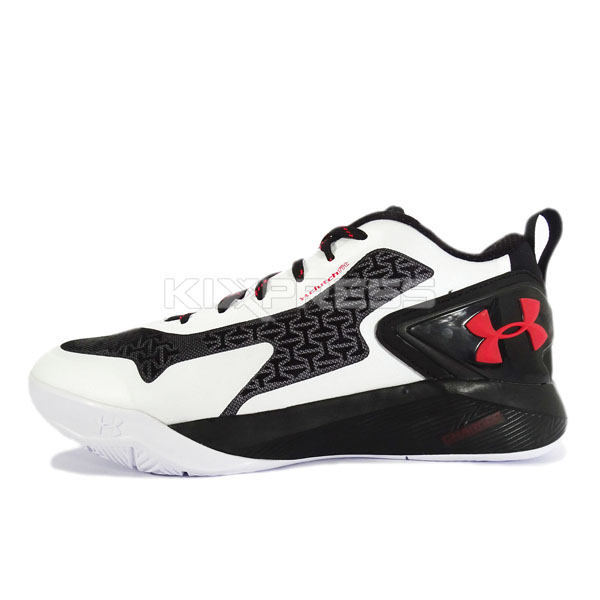 newest cf260 c9883 Details about Under Armour UA Clutchfit Drive 2 Low [1264221-100]  Basketball White/Black