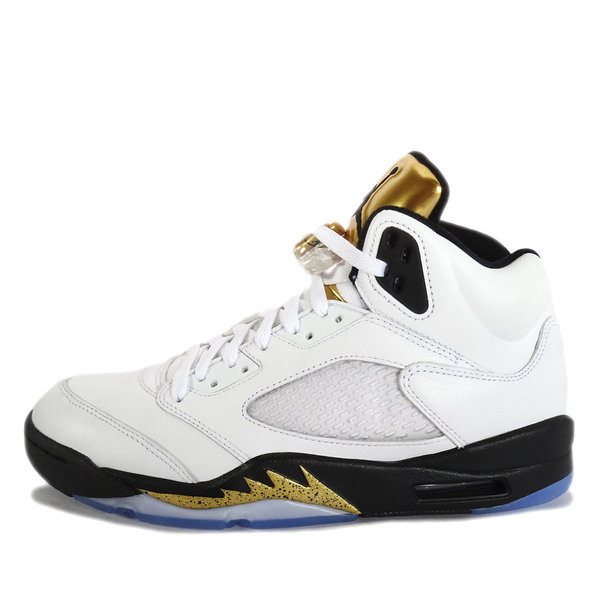 outlet store 5b597 1074d australia nike air jordan 5 retro 136027 133 basketball olympic white black  15ecc 118f9