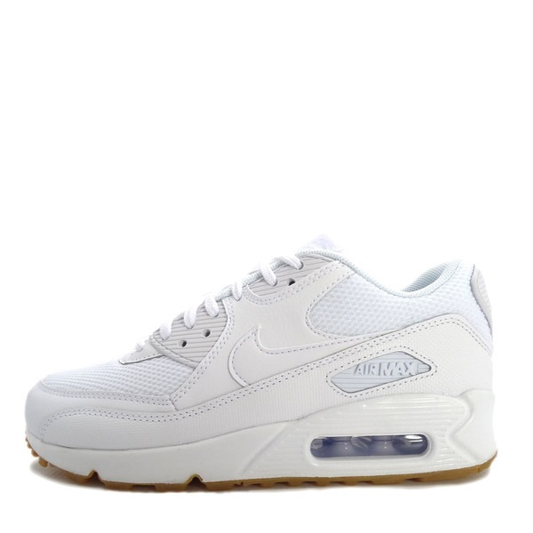 lowest price c879f dbaa2 Details about Nike WMNS Air Max 90  325213-135  Women Casual Shoes White  White-Gum