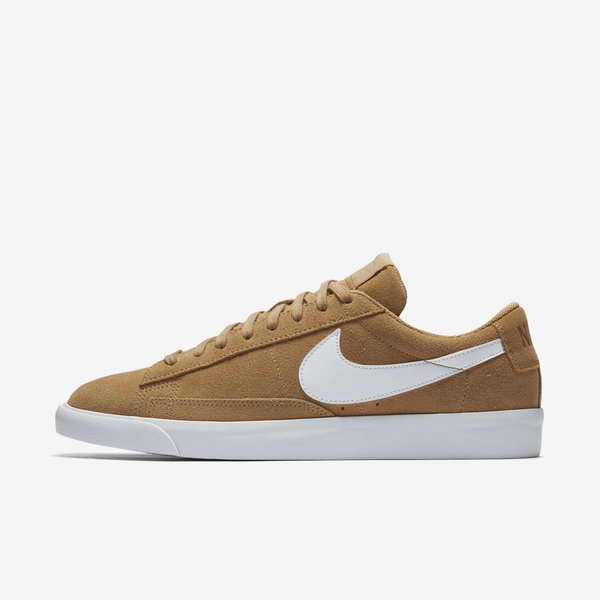 Nike Blazer Low '09 ND [371760-700] Men Casual Shoes Elemental Gold/White