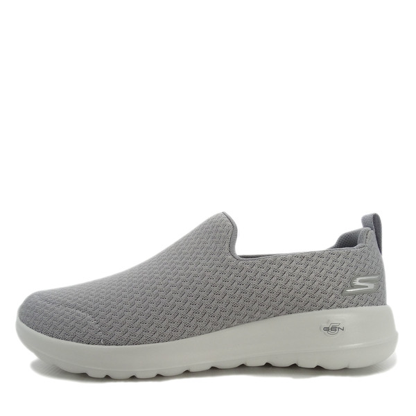 Men Walking Shoes Grey/White