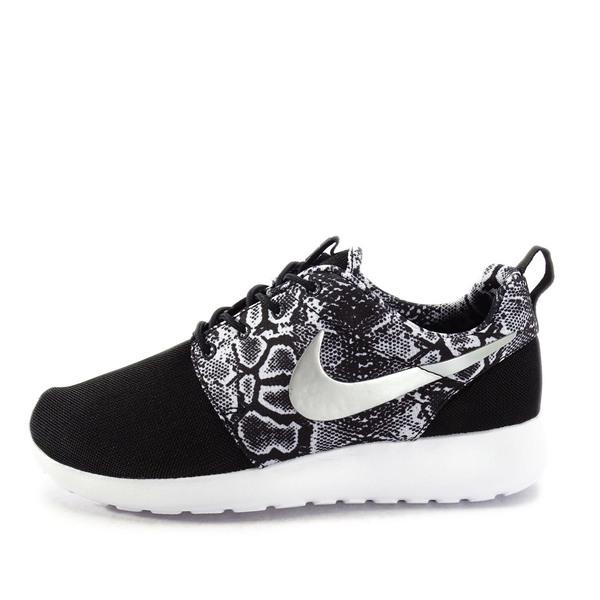 23dff275e9e Nike WMNS Roshe One Print  599432-003  NSW Running Black Metallic ...