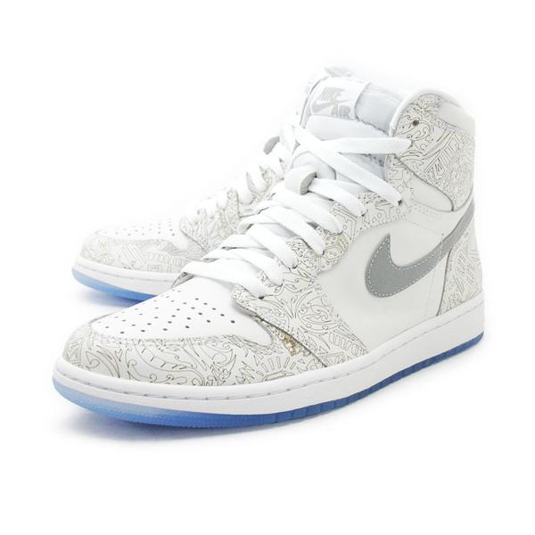 9a38279a09278 Nike Air Jordan 1 Retro Hi OG Laser  705289-100  Basketball 30th ...