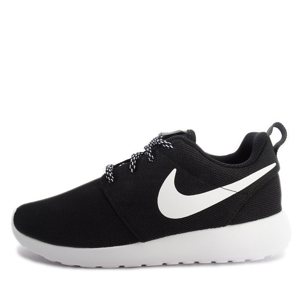 d754dfade01d WMNS Nike Roshe One  844994-002  NSW Casual Black White-Dark Grey