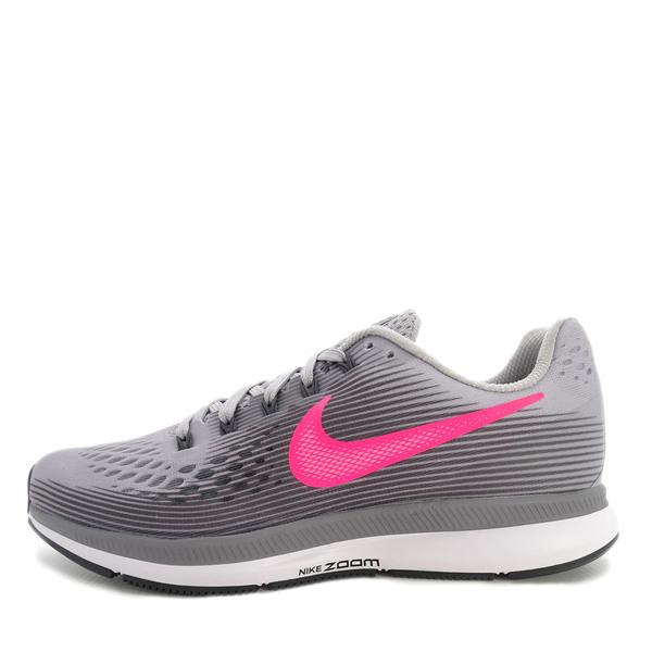 Nike WMNS Air Zoom Pegasus 34 [880560-006] Women Running Shoes Grey/Racer Pink