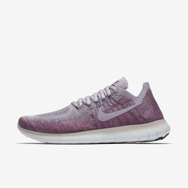 Nike WMNS Free RN Flyknit 2017 [880844-007] Women Running Shoes Atmosphere Grey