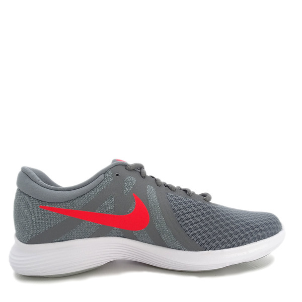 Details about Nike Revolution 4 [908988 013] Men Running Shoes Cool GreyHabanero Red