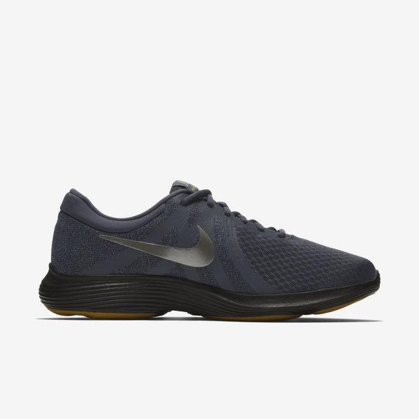 8e6478f394393 Nike Revolution 4  908988-015  Men Running Shoes Gridiron Pewter
