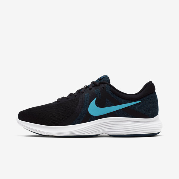 Details about Nike Revolution 4 [908988 021] Men Running Shoes Off NoirLight Current Blue