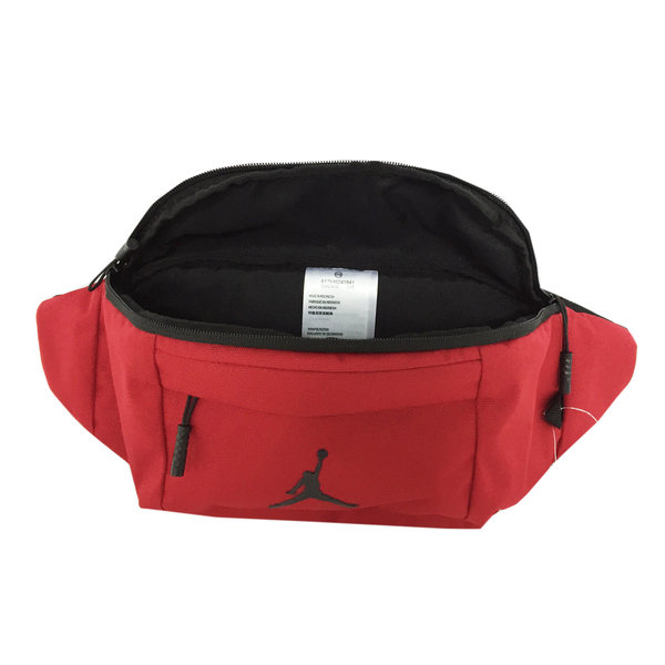 34e0c61f957bbf Nike Jordan Jumpman Crossbody   Waist Bag  9A0092-R78  Red Black