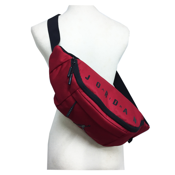 0c1617114ed Nike Jordan Jumpman Crossbody   Waist Bag  9A0092-R78  Red Black   eBay