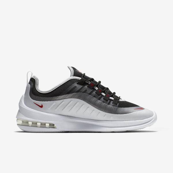 Nike Air Max Axis Black Metallic Platinum White Sport Red AA2146 009