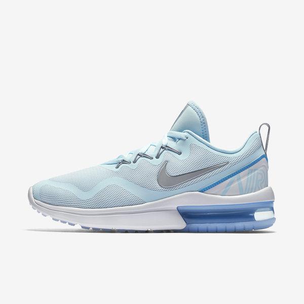 Nike WMNS Air Max Fury [AA5740-403] Women Running Shoes Glacier Blue/Silver-Grey