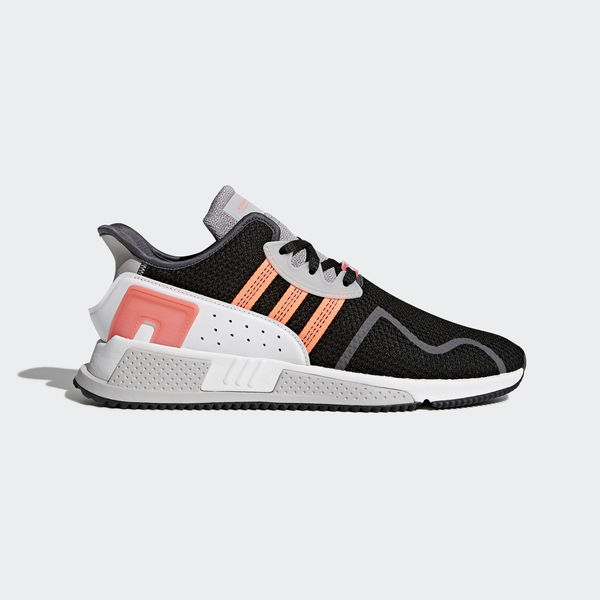 Adidas Originals EQT Cushion ADV [AH2231] Men Casual Shoes Black/Chalk Coral