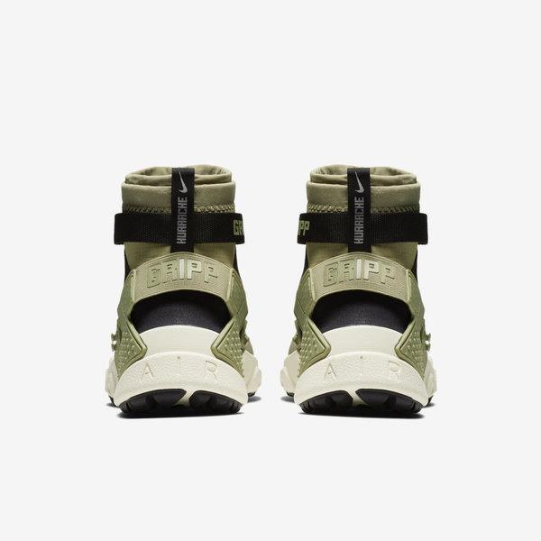 3c537f55bac1 Nike Air Huarache Gripp Neutral Olive Black Men Lifestyle Shoes AO1730-200
