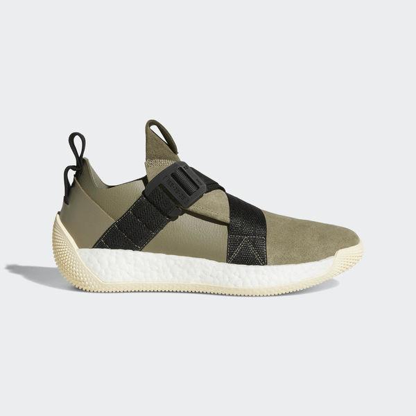 Adidas Harden LS 2 Buckle Cargo Green AQ0020 Mens Basketball Shoes
