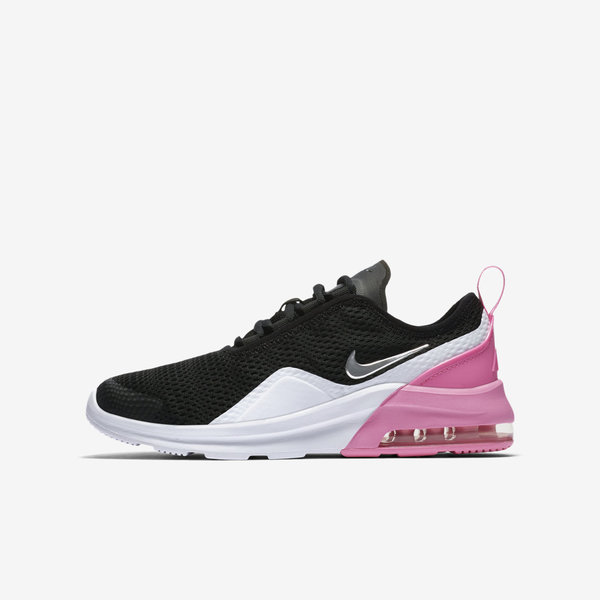 Details about Nike Air Max Motion 2 GS [AQ2745 001] Kids Casual Shoes BlackSilver Pink