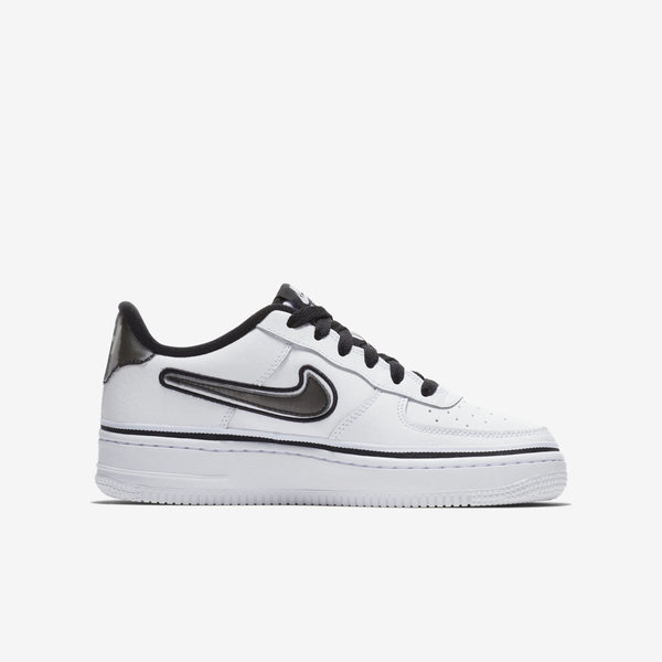 Details about Nike Air Force 1 LV8 Sport GS [AR0734 100] Kids Casual Shoes NBA Spurs White