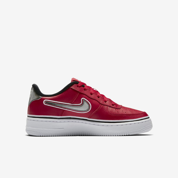 Details about Nike Air Force 1 LV8 Sport GS [AR0734 600] Kids Casual Shoes NBA RedBlack