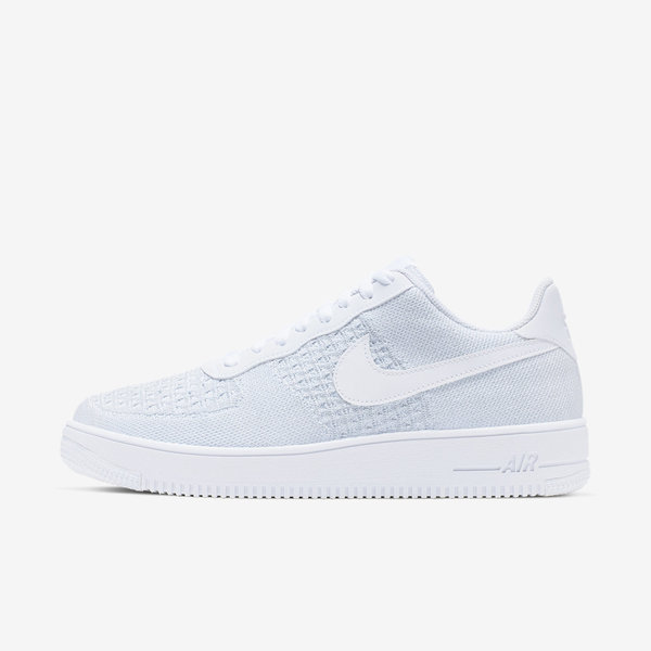 c07089b1 Details about Nike Air Force 1 Flyknit 2.0 [AV3042-100] Men Casual Shoes  White/Pure Platinum