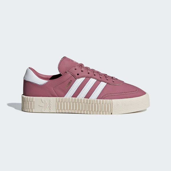 Details about Adidas Originals Sambarose W [B28161] Women Casual Shoes Trace MaroonWhite