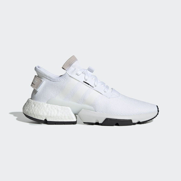 adidas Originals Pod s3.1 Boost White Core Black Size 10 US B37367