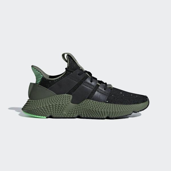 Details about Adidas Originals Prophere [B37467] Men Casual Shoes BlackWhite Shock Lime