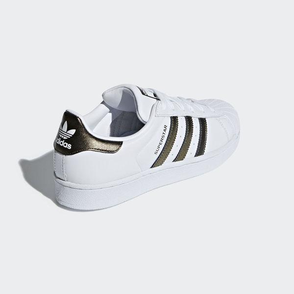 Details about Adidas Originals Superstar W [B41513] Women Casual Shoes WhiteBronze Black