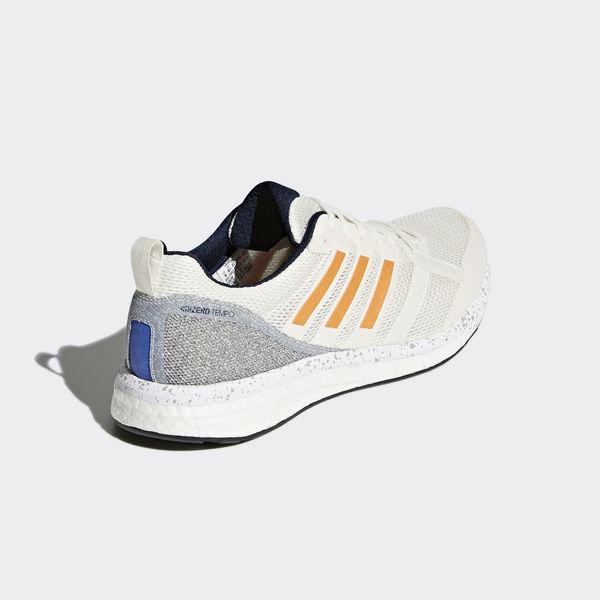 b7901126a0e6 Adidas Adizero Tempo 9 M  BB6433  Men Running Shoes White Orange ...