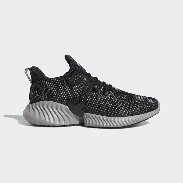 Details about Adidas Alphabounce Instinct M [BC0626] Men Running Shoes BlackWhite Grey