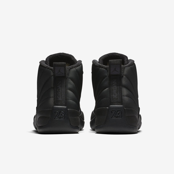 bfc3f1b038978b Nike Air Jordan 12 Retro WNTR   BQ6851-001   Men Casual Shoes Winterized  Black
