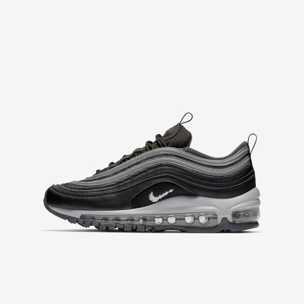 Details about Nike Air Max 97 Y2K GS [BQ8380 001] Kids Casual Shoes BlackSilver