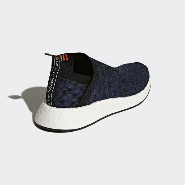 f8f0c7779b47a Adidas NMD CS2 Primeknit W  CQ2038  Women Casual Shoes Black Navy