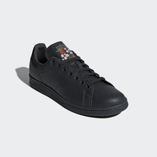 promo code 61bee 9082a Details about Adidas Originals Stan Smith CQ2197 Men Casual Shoes Carbon Black-Grey