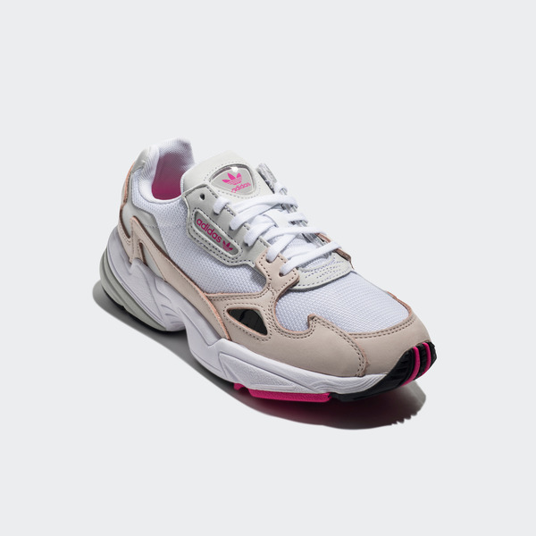 cad95e3cbe9 Details about Adidas Falcon W [DB2763] Women Casual Shoes White/Ice Pink