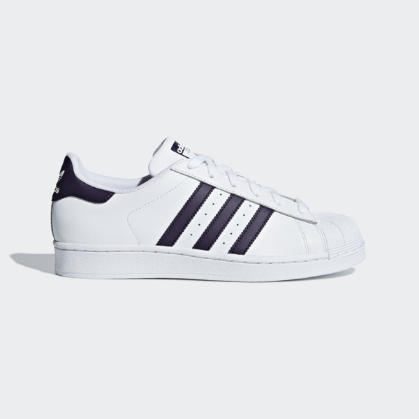 Details about Adidas Originals Superstar W WhiteLegend PurpleBlack Classic Casual DB3346