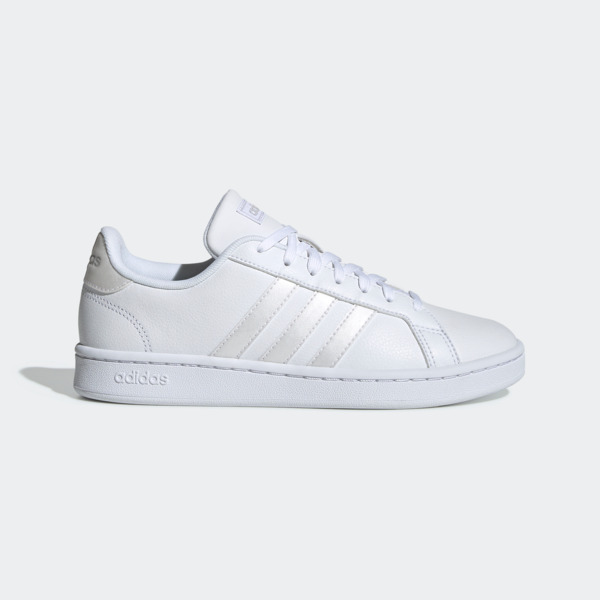 Details about ADIDAS GRAND COURT [EE8172] Women Casual Shoes WhiteGrey