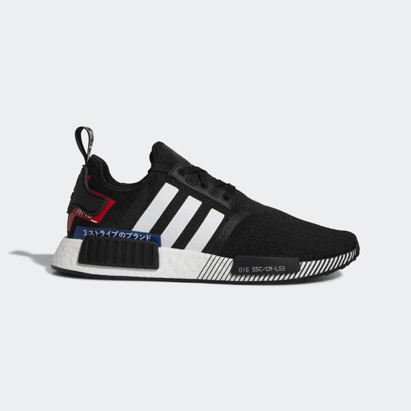 Details about Adidas Originals NMD_R1 [EF2357] Men Casual Shoes BlackWhite Lush Blue