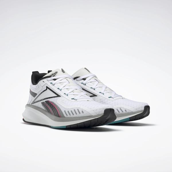 Reebok Rbk Fusium Run 20 Eg9922 Men Running Shoes White Black Acid Pink Ebay