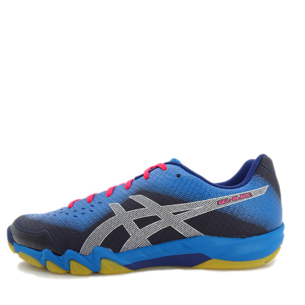 Details about Asics GEL Blade 6 [R703N 402] Men Badminton Shoes Blue PrintRace Blue