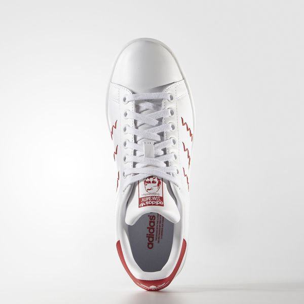 Adidas Originals Stan Smith W [s75138] mujeres Casual zapatos blanco / rojo