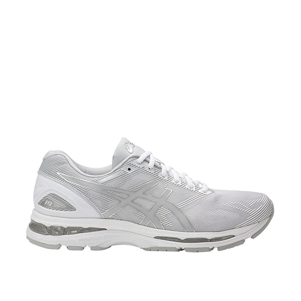 Details about Asics GEL Nimbus 19 [T700N 9693] Men Running Shoes Glacier GreySilver White