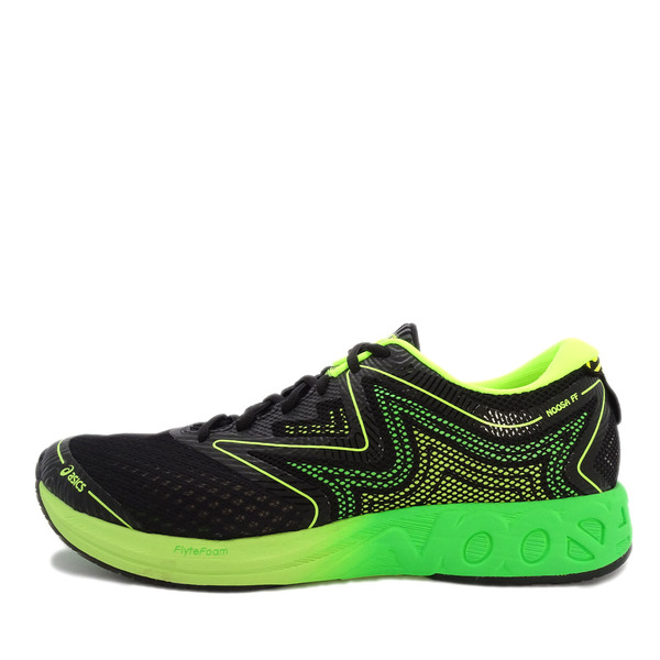 a7c31ff0f739 Details about Asics Noosa FF  T722N-9085  Men Running Shoes Black Green-Volt