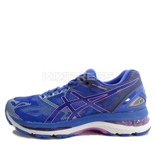 quality design 77c42 2f293 asics gel nimbus 19 blue purple