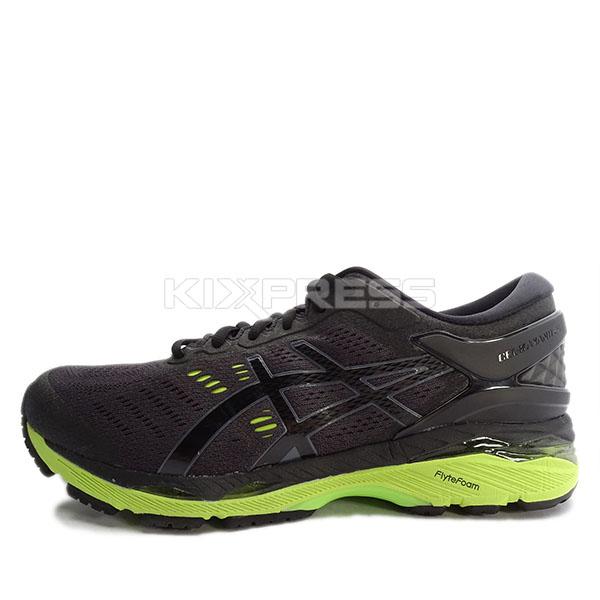 Asics GEL Kayano 24 4E T7A1N 9085 Hommes Running Running Running Chaussures Noir Vert eBay c81195